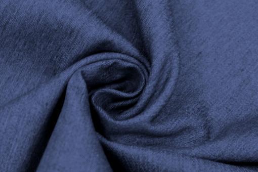 Jeansstoff Stretch Uni Dunkelblau
