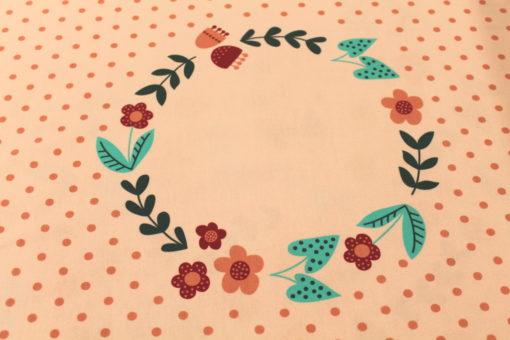 Panel Mädchenmotive auf Baumwolljersey Rosa